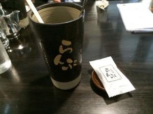 当日はアイスコーヒーをいただきました