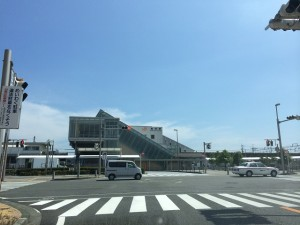 島田駅です ホントに行った証拠写真(笑)