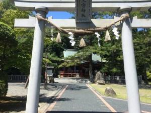 池宮神社 綺麗にされていて地元の方の信仰心の高さが分かります