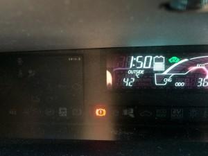 OUTSIDE 42°C( ;∀;)