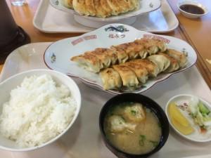 餃子定食(中)/1170円